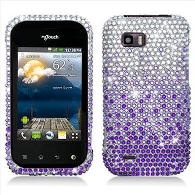 Bling Diamond Hard Case Cover for T Mobile LG myTouch Q C800 Accessory
