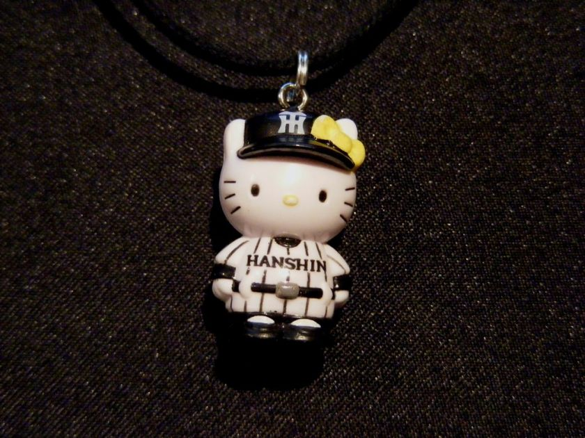 Cute Hello Kitty Baseball Pendant Necklace Charm