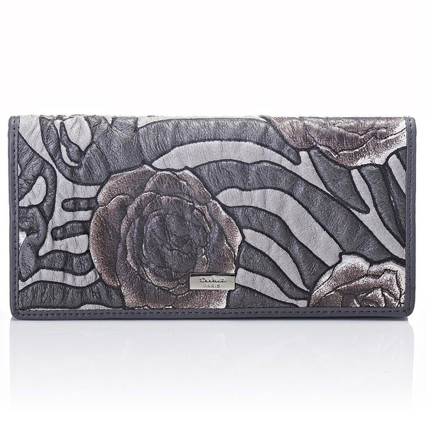 Beautiful high quality French designer ladies long wallet.